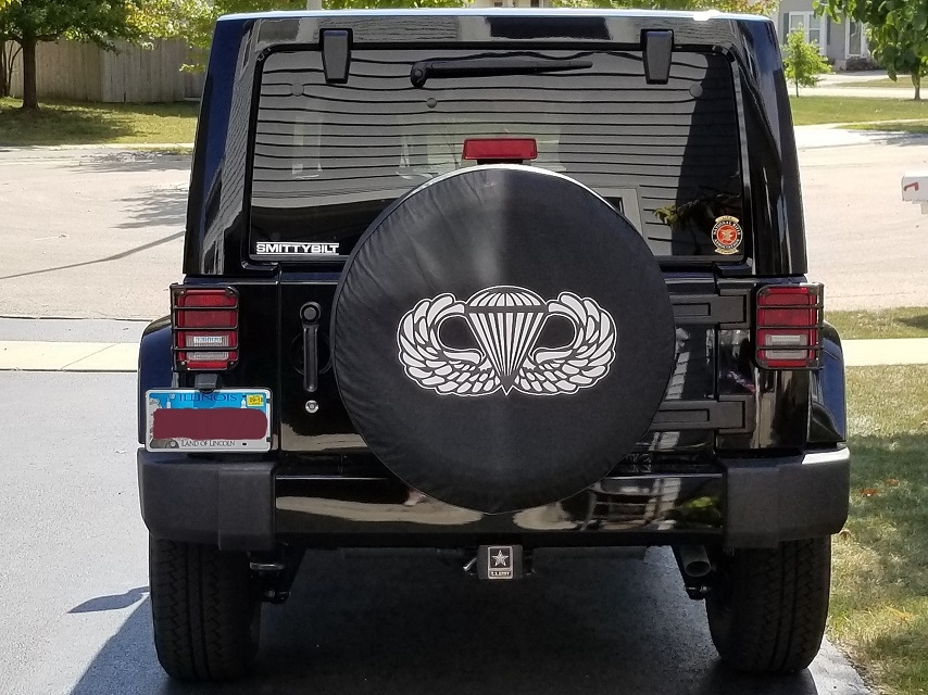 Paratrooper Tire Cover