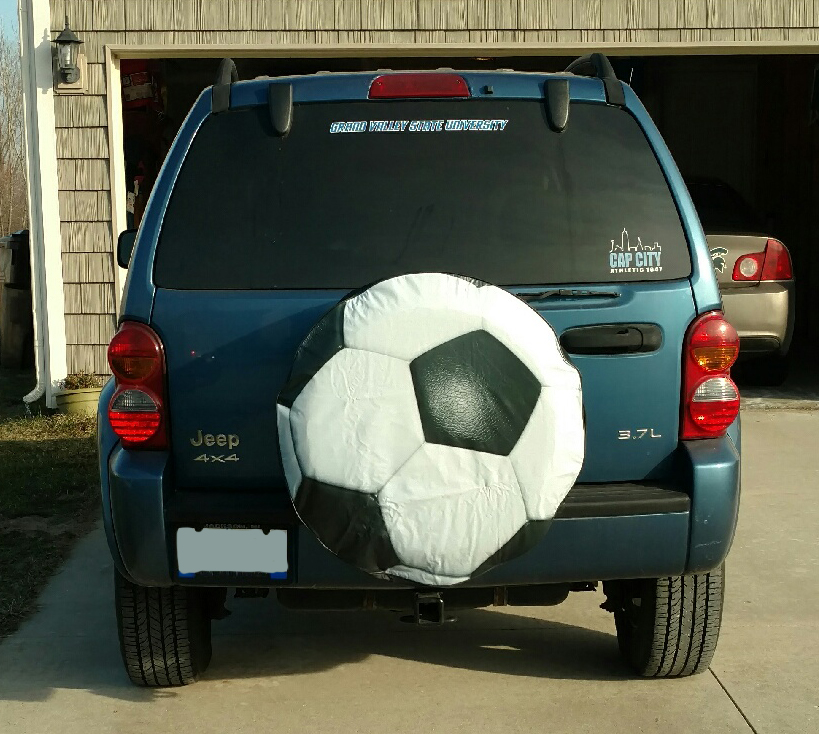Soccer Ball Tire Cover