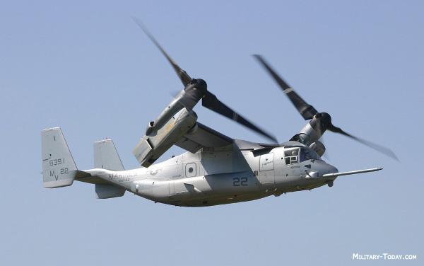 United States Marince Corps V-22 Osprey