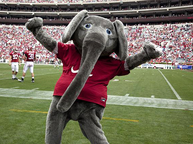 University of Alabama Big Al Mascot