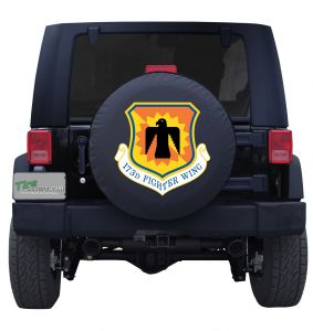 173rd Fighter Wing Division Custom Tire Cover Jeep Wrangler