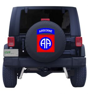 82nd Airborne Tire Cover