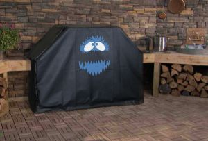 Abominable Snowman Custom Grill Cover
