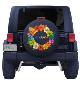 Aloha Lei Tire Cover