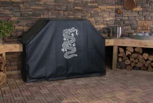 Ancient Chinese Dragon Logo Grill Cover