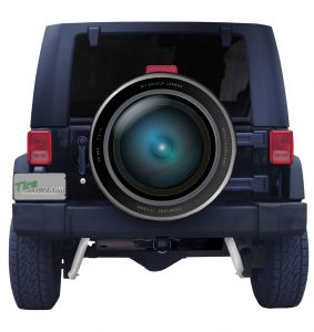 Back Up Camera Lens Tire Cover Front