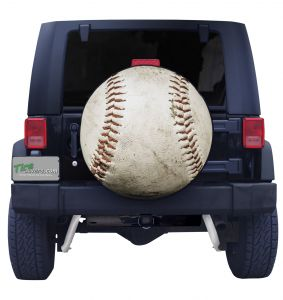 Baseball Tire Cover