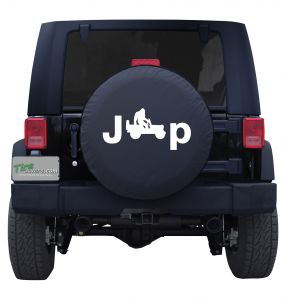 Bigfoot's Jeep Custom Tire Cover