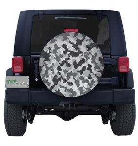 Urban Camouflage Tire Cover Jeep Wrangler JL