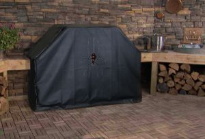 Black Widow Logo Grill Cover