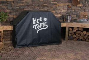 Boo Time Custom Grill Cover