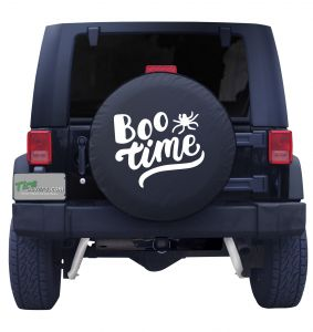 Boo Time Tire Cover