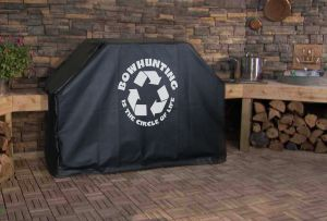 Bow Hunting Circle of Life Logo Grill Cover