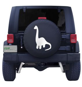 Brachiosaurus Dinosaur Tire Cover