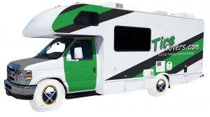 Buffalo Sabres RV Tire Shades