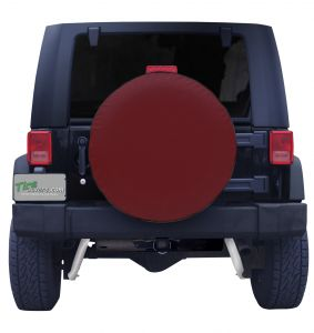 Burgundy-Spare-Tire-Cover