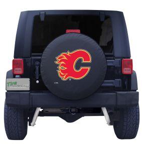 Calgary Flames Logo Spare Tire Cover