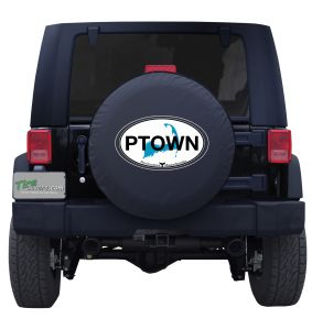 Cape Cod Provincetown Custom Tire Cover