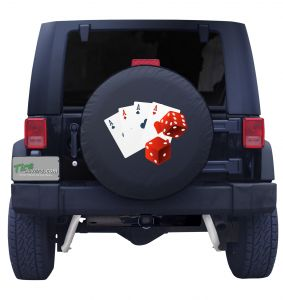 Card Shark Tire Cover