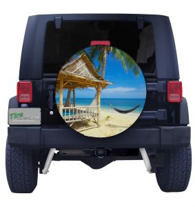 Beach Life Tire Cover
