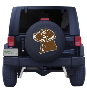Chocolate Lab Custom Tire Cover
