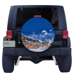 Mountain Village Tire Cover