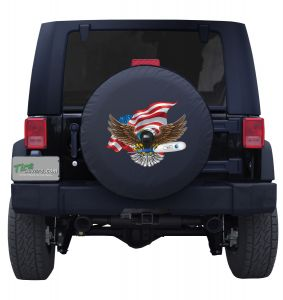 The COVID-19 Eagle with Thermometer Tire Cover