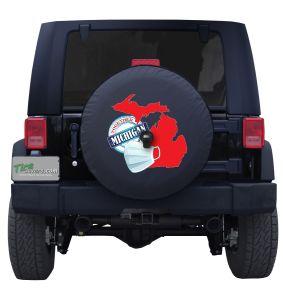 Michigan Coronavirus Tire Cover