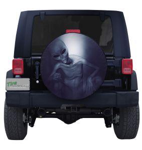 Alien Greys Tire Cover