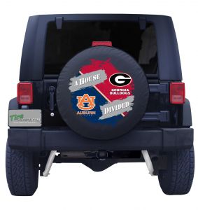 Auburn & Georgia G House Divided Tire Cover