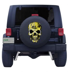 Dont' Tread on Me tire Cover Front