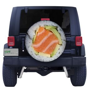 Sushi Tire Cover Front