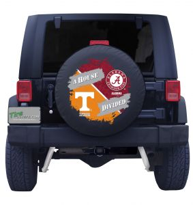 Tennessee & Alabama House Divided Tire Cover
