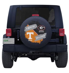 Tennessee & Georgia G House Divided Tire Cover