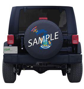 Custom Jeep Wrangler Tire Cover Sample Image