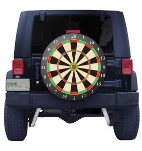 Dart Board Tire Cover