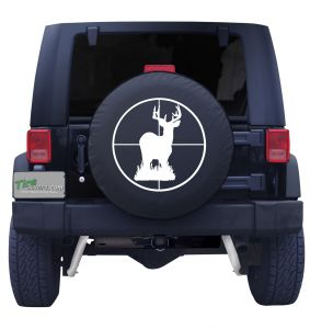 Deer In Sight Tire Cover