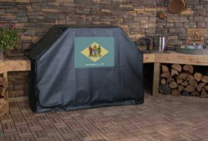 Delaware State Flag Logo Grill Cover