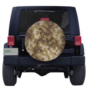 Desert Camouflage Tire Cover Jeep Wrangler