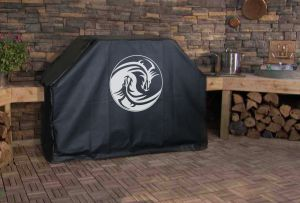Dragon Yin Yang Logo Grill Cover