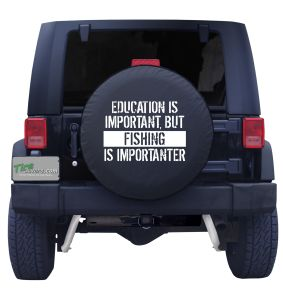 Fish Education Tire Cover