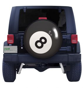 Eight Ball Tire Cover