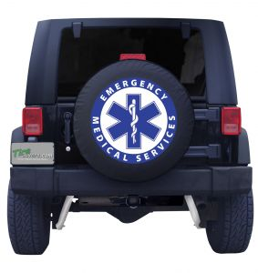 Emergency Medical Services Tire Cover