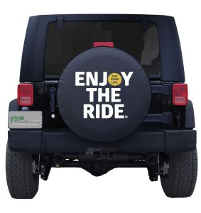 Enjoy The Ride Good Life Custom Tire Cover