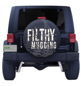 Filthy Mudding Tire Cover Front