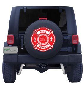 Fire Rescue Tire Cover