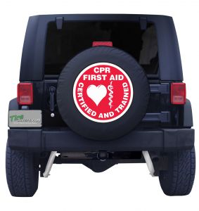 CPR Services Tire Cover