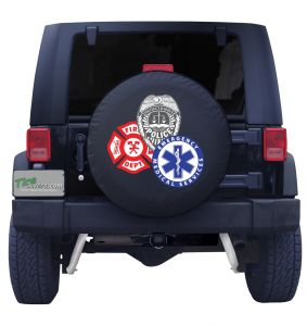 First Responders Tire Cover