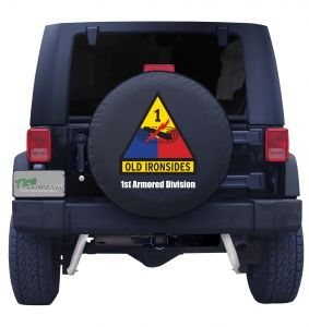 1st Armored Division Tire Cover