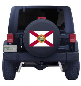 Florida State Flag Tire Cover Front